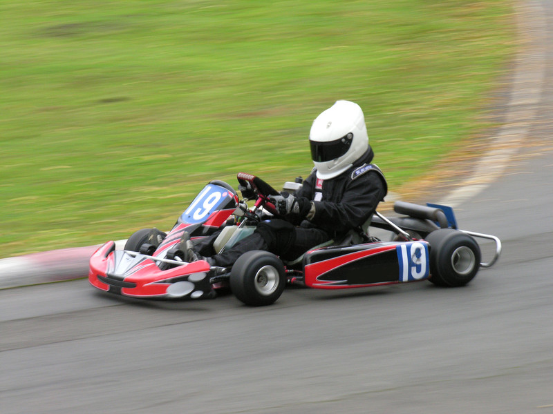 Image of a racing go kart