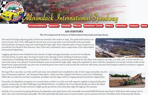 Adirondack International Speedway