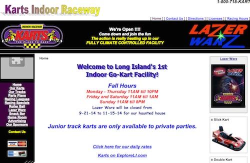 Karts Indoor Raceway