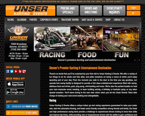 Unser Karting and Events
